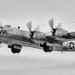 B29 Superfortress 'Fifi' takes off
