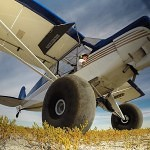 Flying the cub at a backcountry airstrip