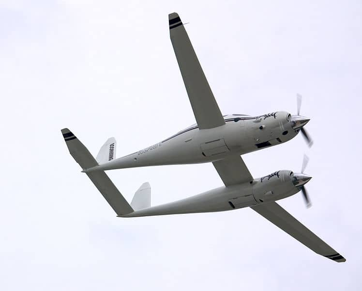 The Rutan Boomerang in flight - History of the Experimental Certificate