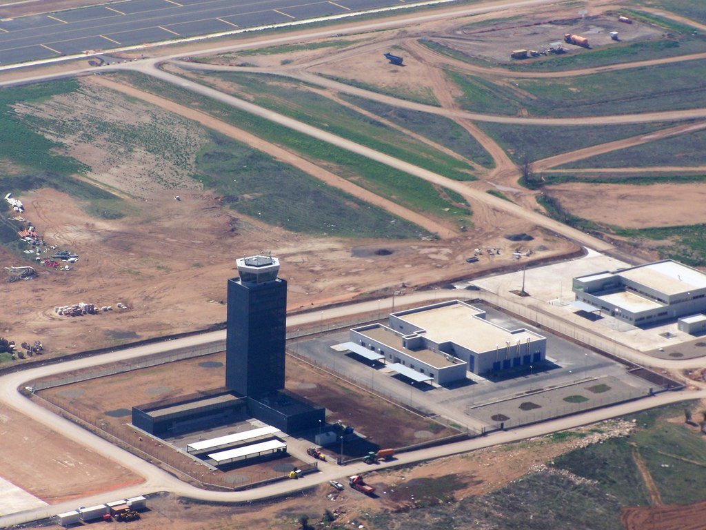 Ciudad Real Central Airport under construction 2008 - Ghost Airports