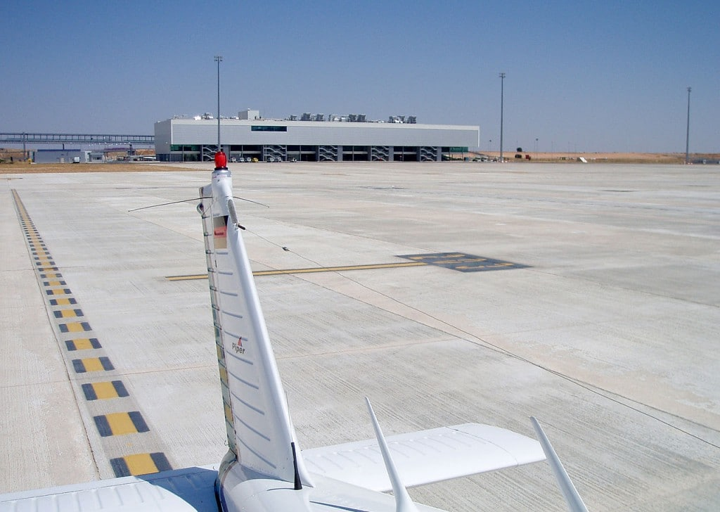 Ciudad Real Central Airport with no traffic - Ghost Airports
