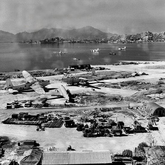 Kai Tak Airfield 1946 - Ghost Airports