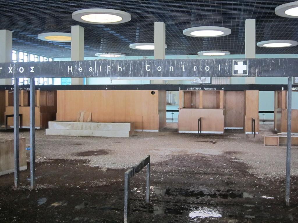 Nicosia International Airport health counter - Ghost Aiports