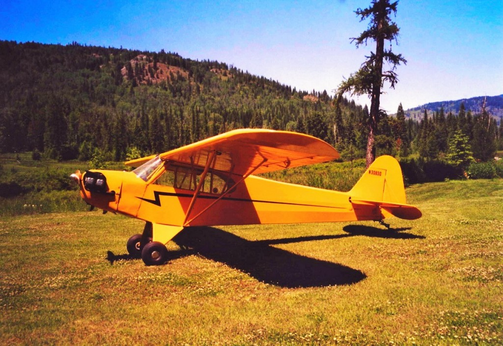 Piper J-3 Cub in the backcountry - The World's Most Iconic Airplane