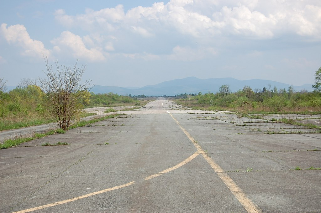 Željava Airbase runways - Ghost Airports