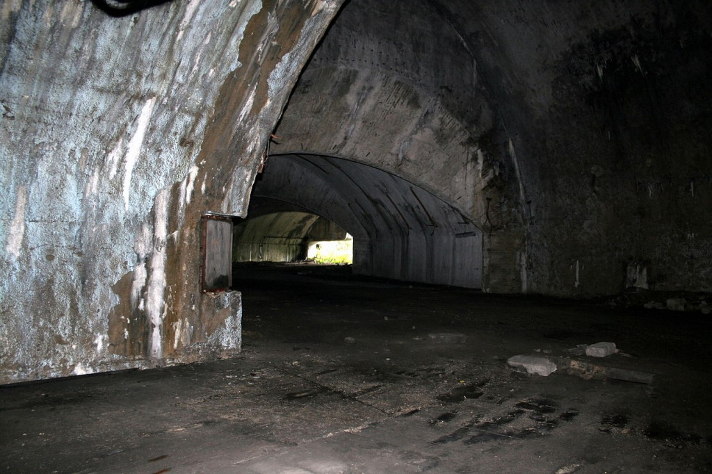 Željava Airbase the tunnels and entrance - Ghost Airports