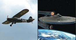 From the J3 Cub to the USS Enterprise: A True Story