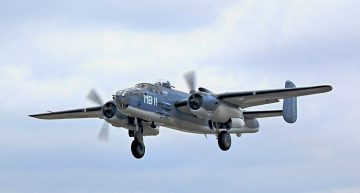World's Last Known PBJ-1J Mitchell Takes Flight After 23 Years