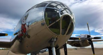 Restored B-29 Superfortress Doc Logs Almost an Hour During Second Flight