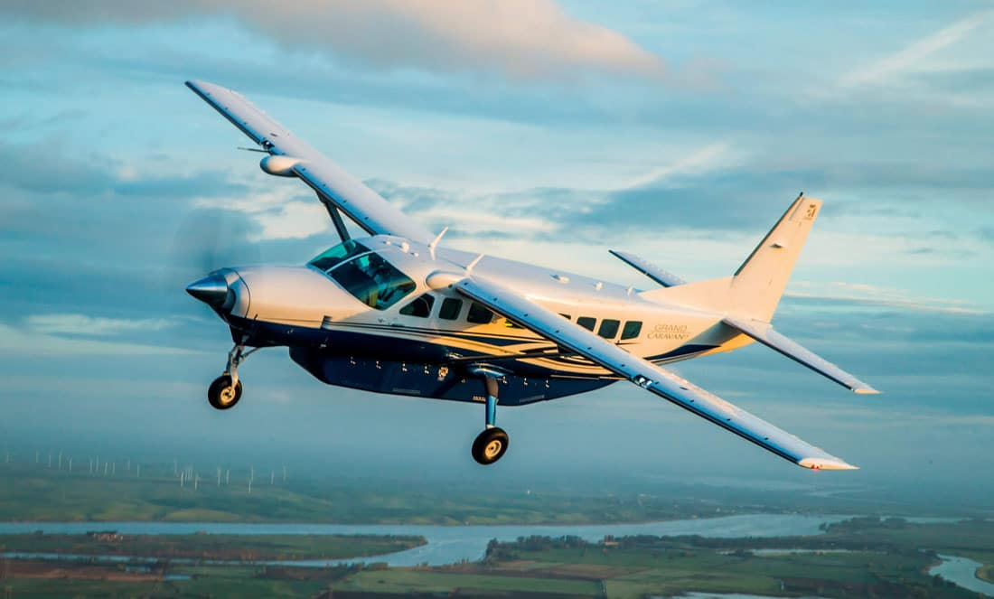 Cessna Caravan and Cessna Grand Caravan EX (pictured) received FAA, EASA certification for Garmin G1000 NXi