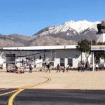 The Ogden Hinckley airport, in Utah - Wasatch front airports.