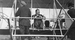 The First President to Fly