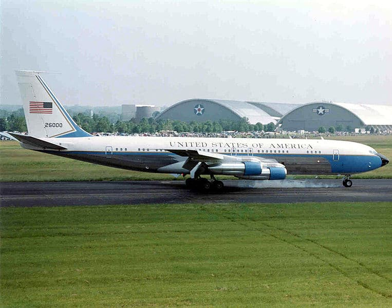 Boeing 707 variant used during the 60s and 70s