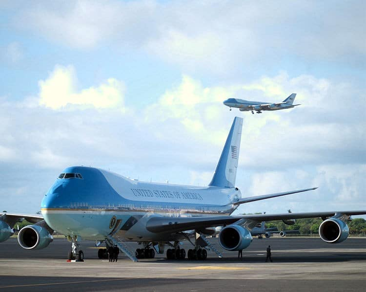 Current Air Force One model