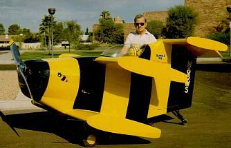 Robert Starr and The Bumblebee 1 - Flight of the Bumble Bee Airplane