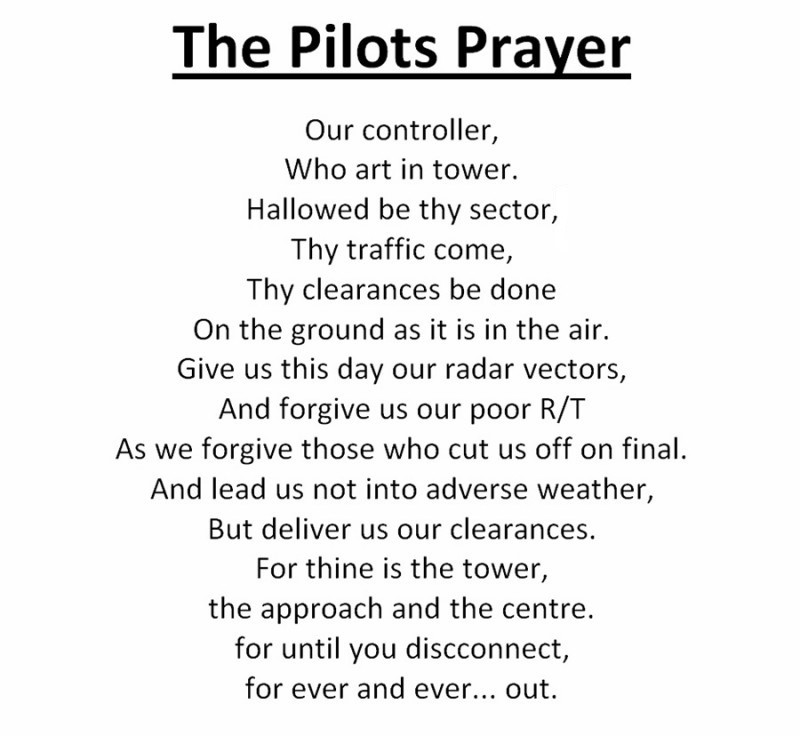 The Pilots Prayer