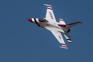 Thunderbirds at Hill Air Force base air show