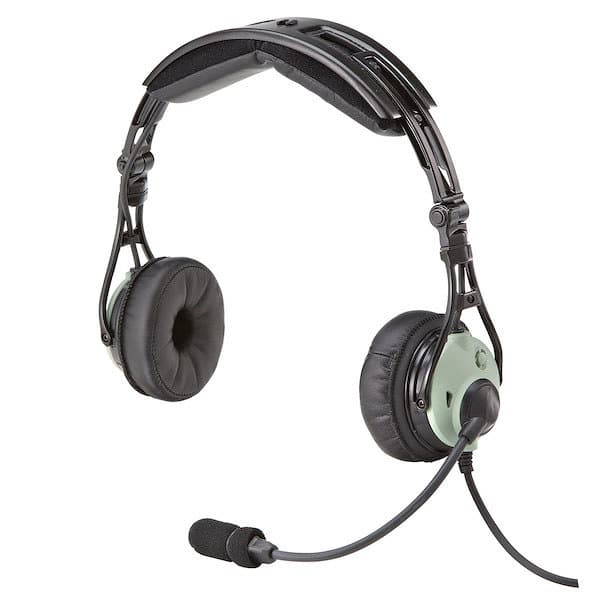 DC PRO-x headset for pilots