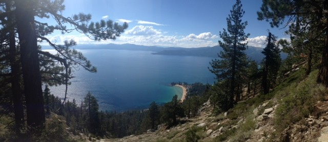 Sand Harbor, Lake Tahoe - Lake in the Sky Air Show