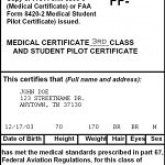 Should pilot medical qualification be made easier by eliminating 3rd class medical