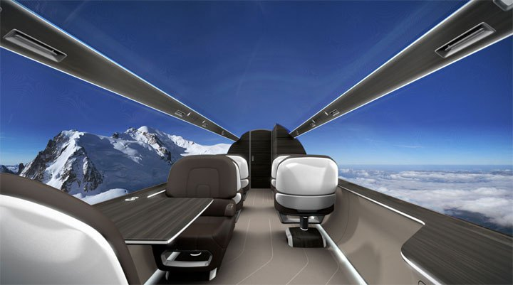 The view from the IXION jet. - Window Seats for Everyone!