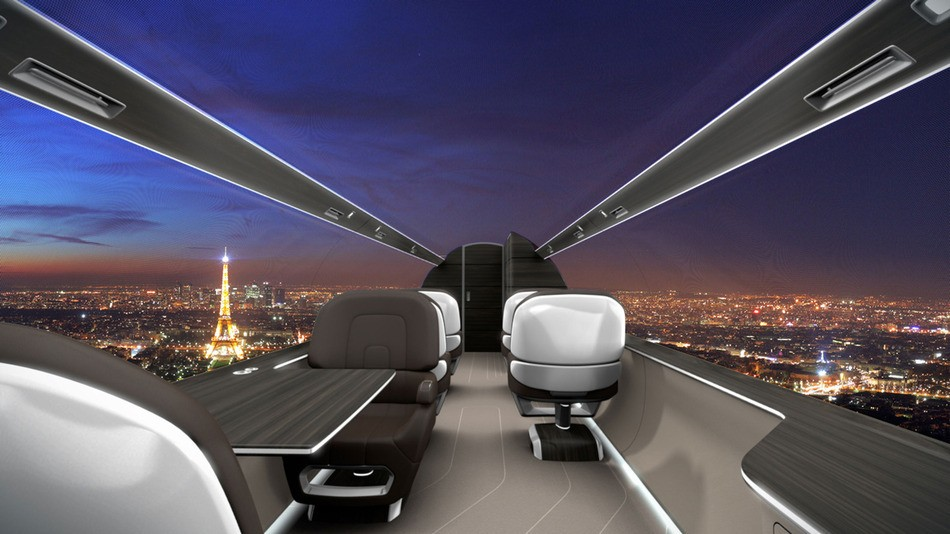 The view from the Ixion Jet
