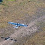 Flying into Chamberlain Basin Airstrip - working to preserve backcountry airstrips