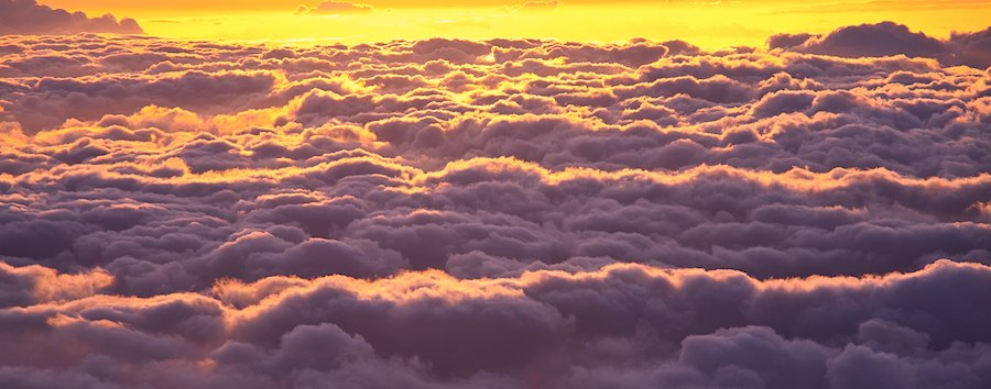 Above clouds - Don't Sweat the Small Stuff