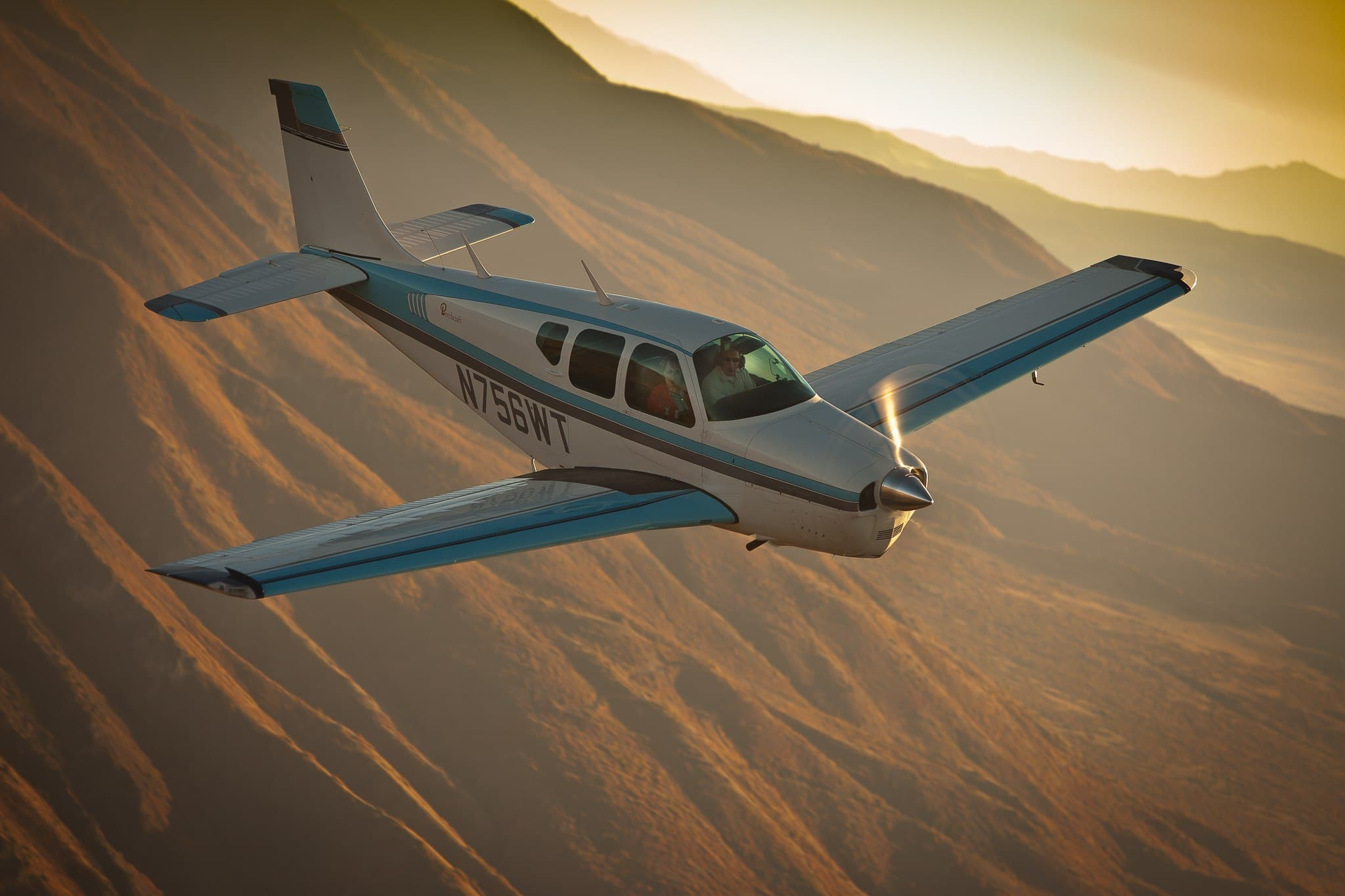 Beechcraft Bonanza - one of many high-performance airplanes