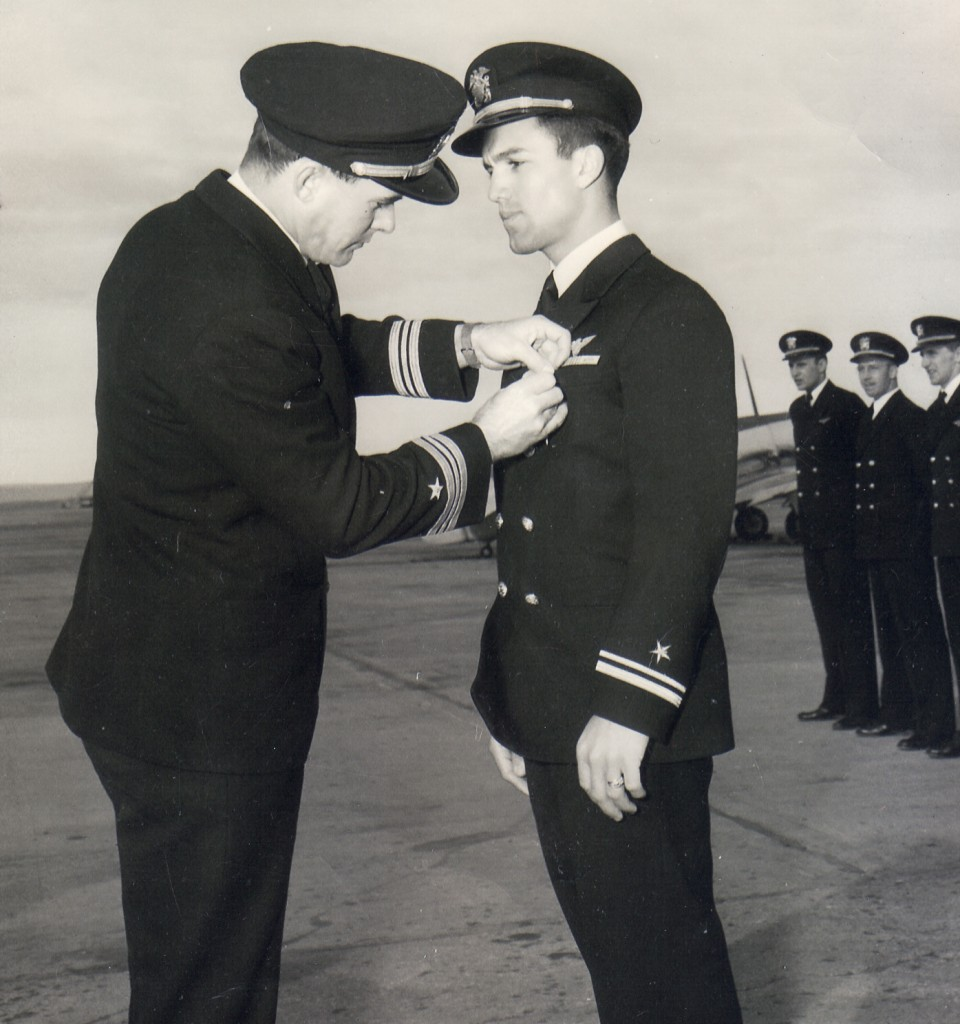 WW2 Navy pilot Nat Adams receives the Distinguished Cross - 271 Days of Combat