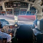 In the Cockpit of a commercial line - Zen and the Art of Being a Pilot