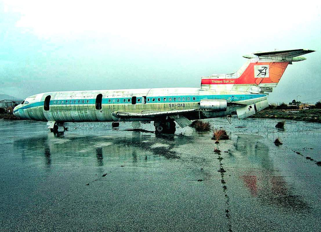 Abandoned Aircraft at one of many abandoned airports - Gost Airports, Top 10 Articles of 2014