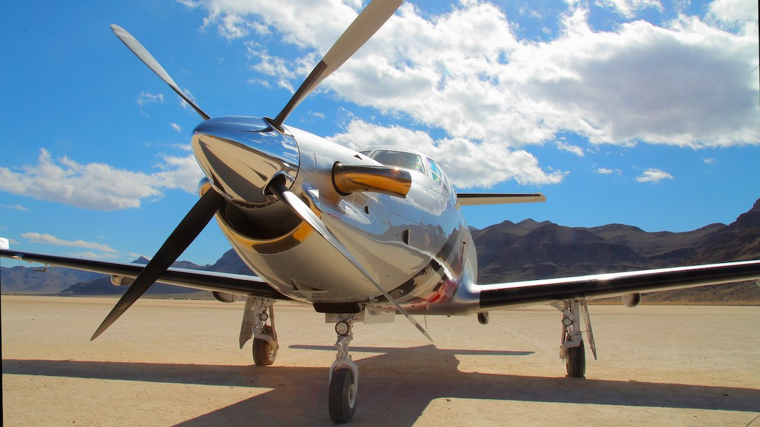Pilatus PC-12 NG at Ibex Hardpan - Top 10 Articles of 2014