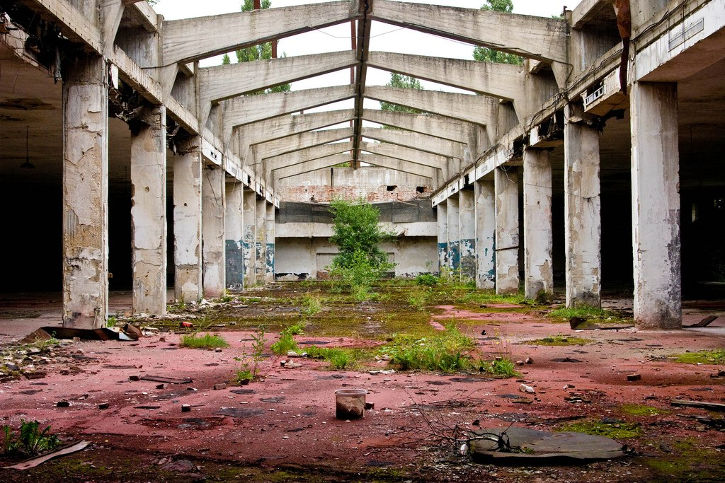 Old Daber Airfield Terminal - Ghost Airports