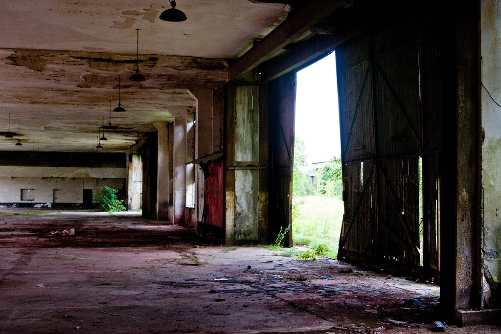Old Daber Airfield buildings - Ghost Airports