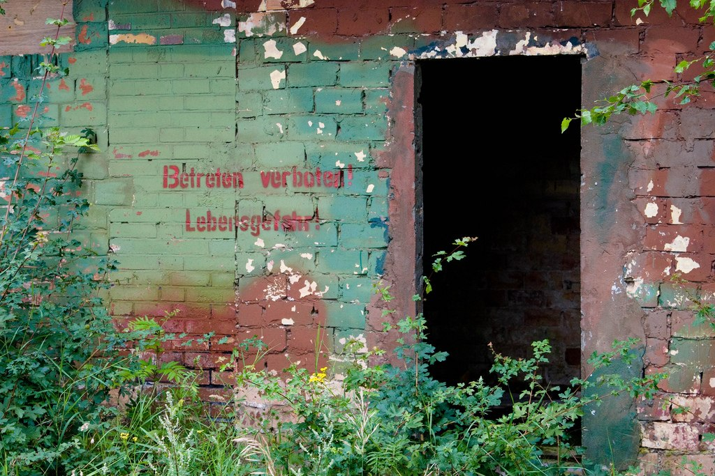 Old Daber Airfield outbuilding - Ghost Airports