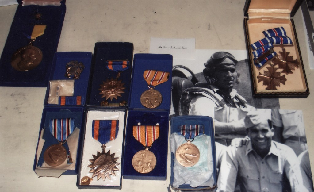 The awards of WW2 Navy pilot Nat Adams - 271 Days of Combat