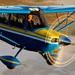 Flying a Decathalon aircraft - Using Special VFR and Contact Approach