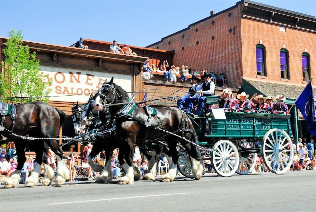 Sun Valley wagon days - Fly to the Perfect Recreation Destination