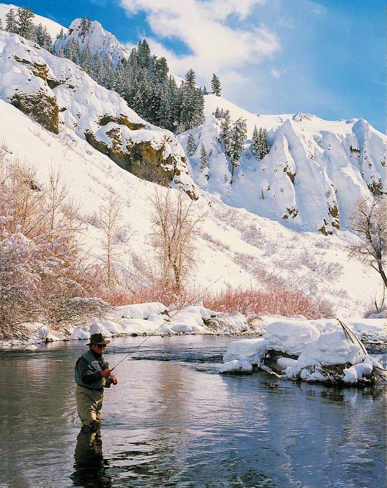 winter fly fish Sun Valley - Fly to the Perfect Recreation Destination