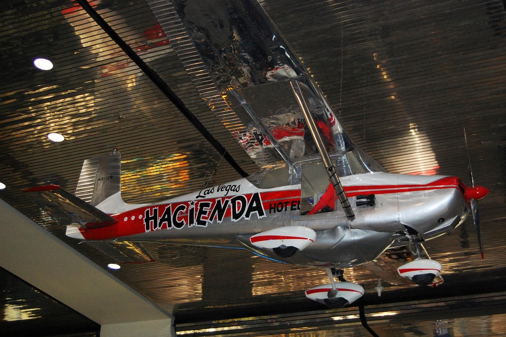 The Hacienda at the McCarran International Airport - The Flight Endurance World Record