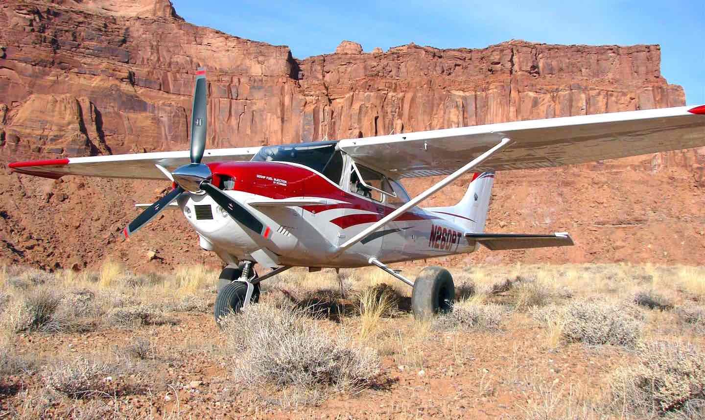 Landing at an aistrip in the San Rafael Swell of Southern Utah - King Katmai: Unbeatable Safety and Performance