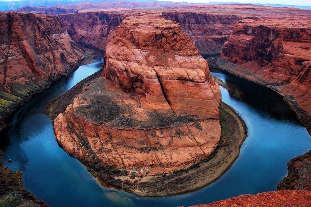 Horseshoe Bend on the Colorado River - Page Airport: Gateway to Redrock Adventures