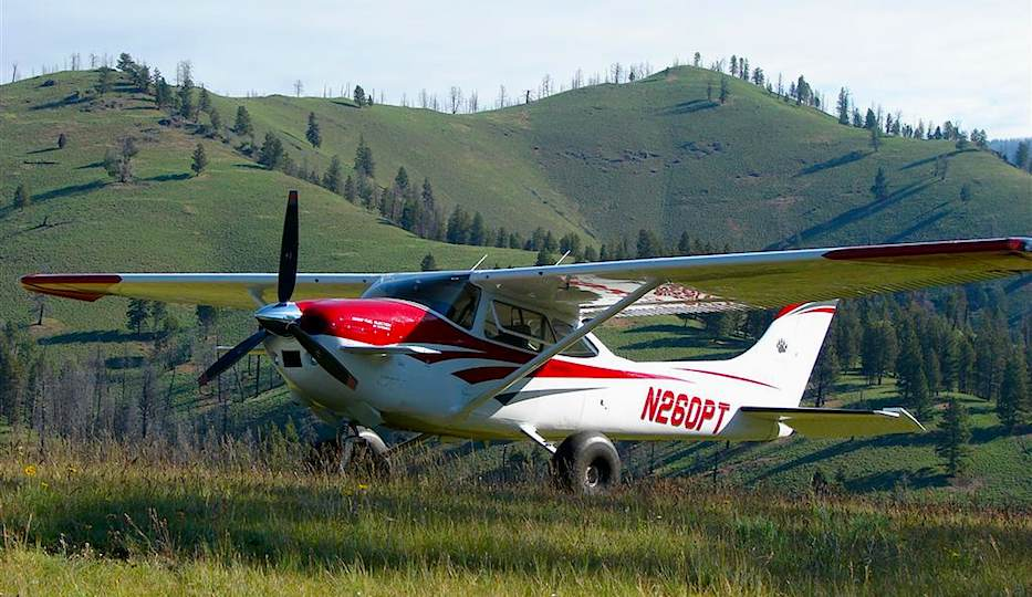 Landing at the Mile Hi airstrip in Idaho - King Katmai: Unbeatable Safety and Performance