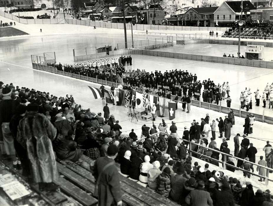 1932 winter Olympics at Lake Placid - Lake Placid Airport