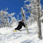 Skiing through the slopes of Whitehead Mountain - Access through Lake Placid Airport