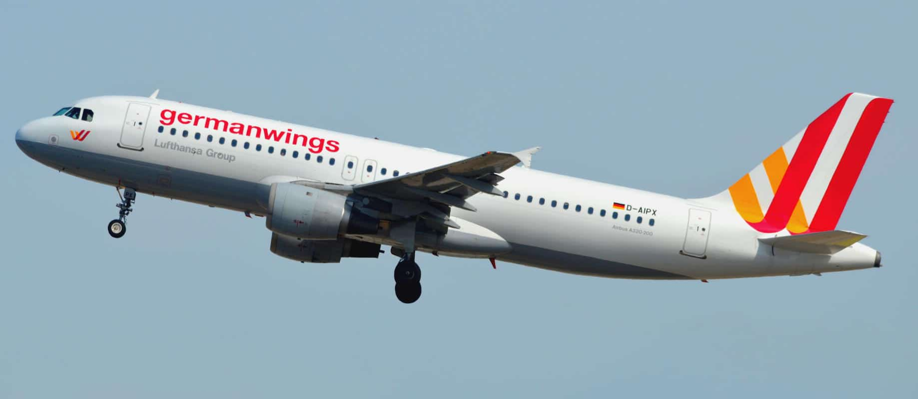 The Airbus aircraft involved in the Germanwings tragedy a year earlier