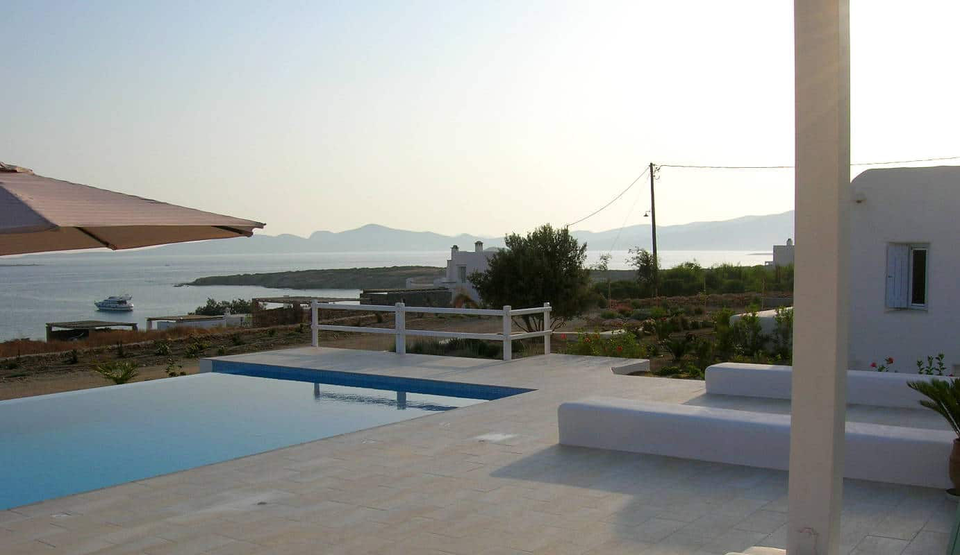 Great accommodations on the island of Paros.
