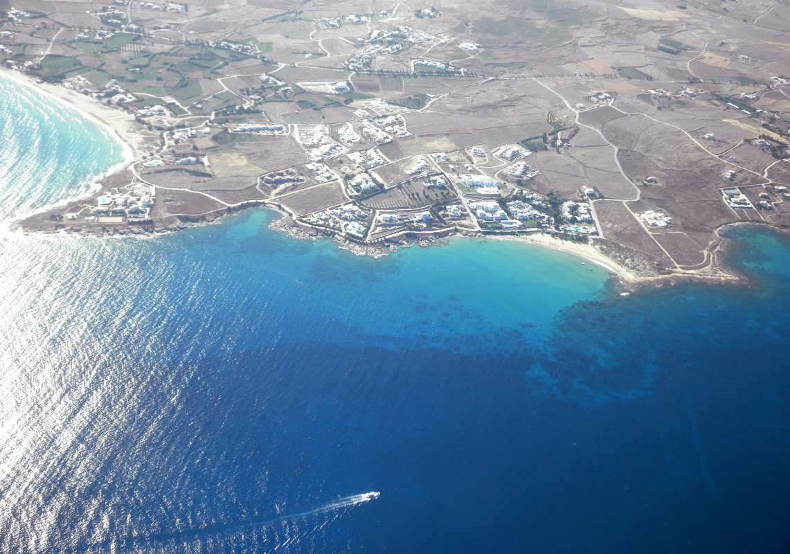 Eastern coast of Paros
