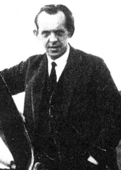 Photo of Alexander Lippisch.